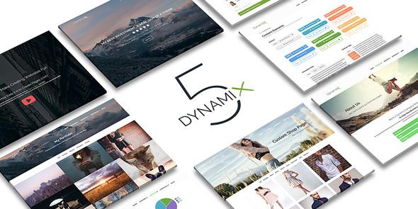 قالب شرکتی وردپرس DynamiX
