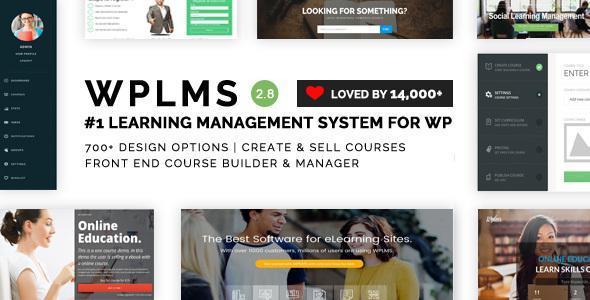 قالب و سیستم آموزش آنلاین وردپرس WPLMS
